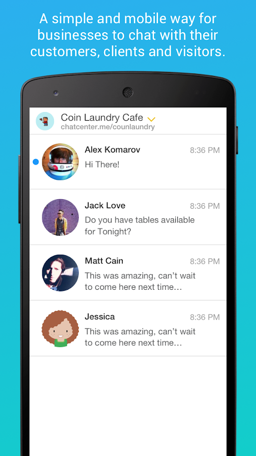 Chat Center- screenshot