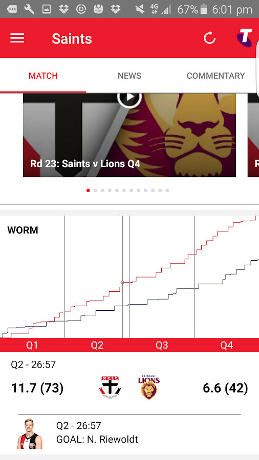 St Kilda Official App- screenshot