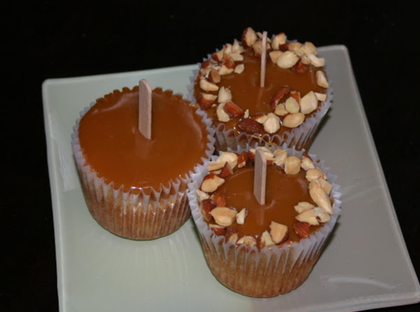 Caramel Gingered Apple Cupcakes Recipe