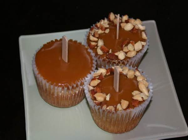 Caramel Gingered Apple Cupcakes Recipe