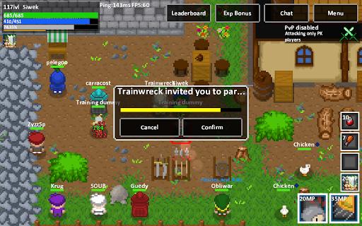 Heroes & Rats MMORPG Online painmod.com screenshots 6