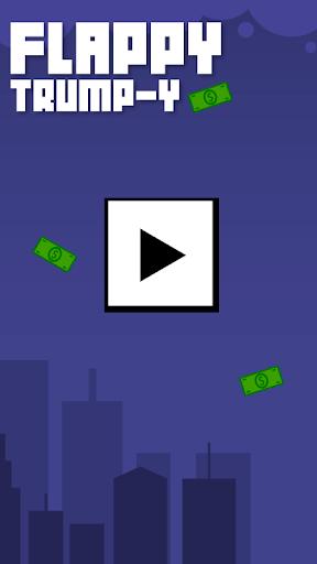Flappy Trump -y|玩街機App免費|玩APPs