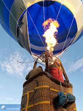 Photo: Décollage de montgolfière