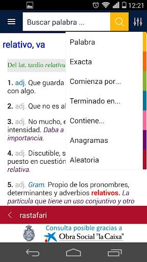Diccionario RAE y ASALE (DLE)  screenshots 3