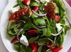 Arugula & Honey Goat Cheese Salad