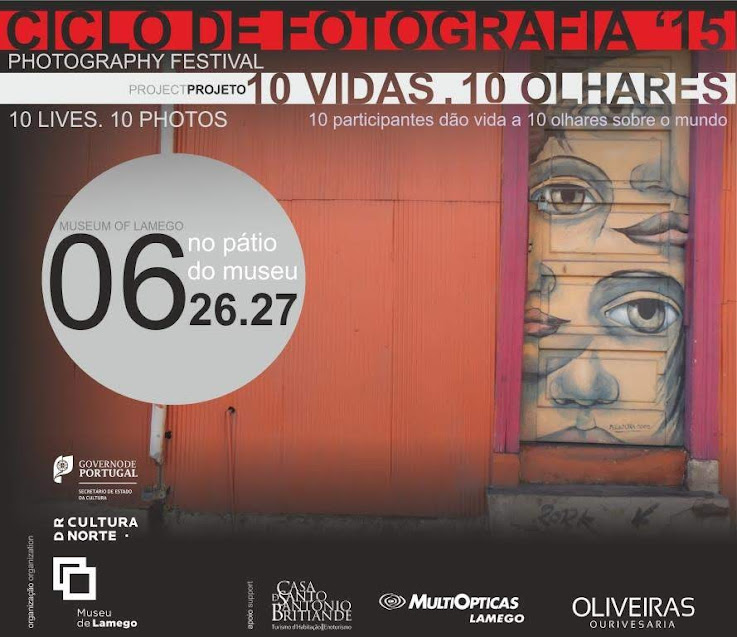"""Projeto """"10 Vidas. 10 Olhares"""" em exposição no Pátio do Museu de Lamego"""