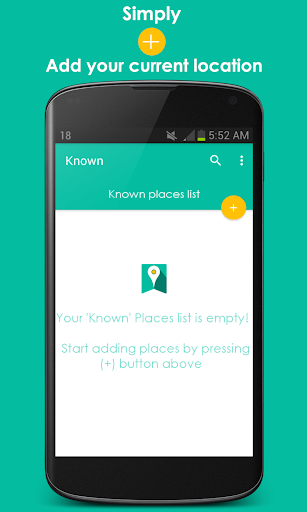 Known- Places Bookmarking