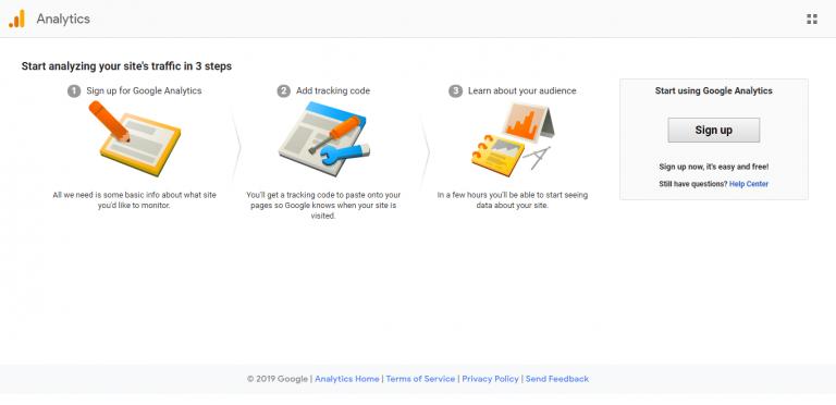 instalar e configurar google analytics