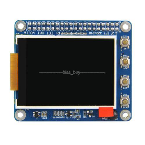 Raspberry-Pi-2-3-B-2-2-034-TFT-Screen-LCD-Display-Expansion-Board-Buttons-IR-Sensor