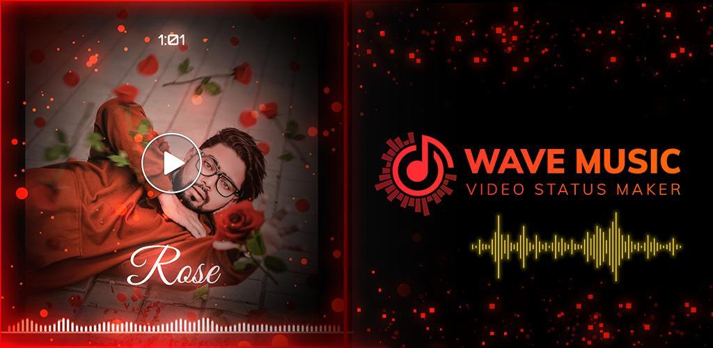 Download Wave Music Video Status Maker Spectrum Effect