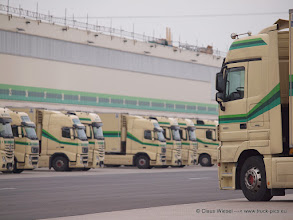 Photo: Absatzzentrale in Kempen am Niederrhein   ------> click for more: www.truck-pics.eu