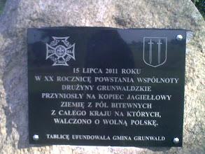 Photo: Stalowa XIII przywiozła ziemię z Cmentarza Orląt Lwowskich