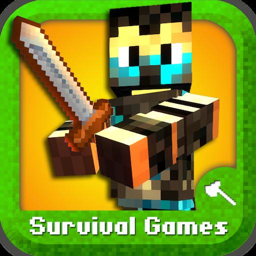 Survival City Pixel Block Mine FPS Pocket Edition