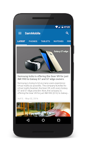 SamMobile- screenshot thumbnail