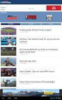 Screenshot of WRAL Sports Fan