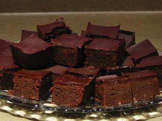 Chocolate Mascarpone Brownies Recipe