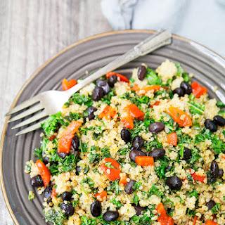 Quinoa Kale Protein Bowl