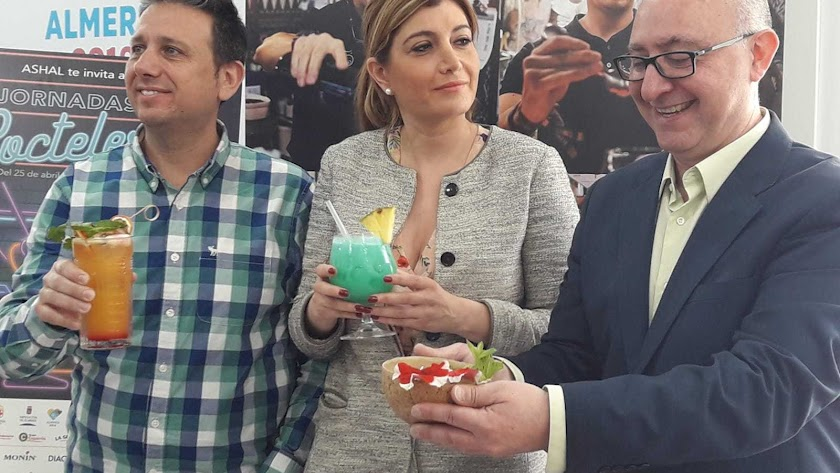 El concurso ha formado parte de las el concurso de las I Jornadas de Coctelería.