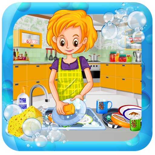 House Dish Washing Kitchen Clean up: Cleaning Sim file APK for Gaming PC/PS3/PS4 Smart TV