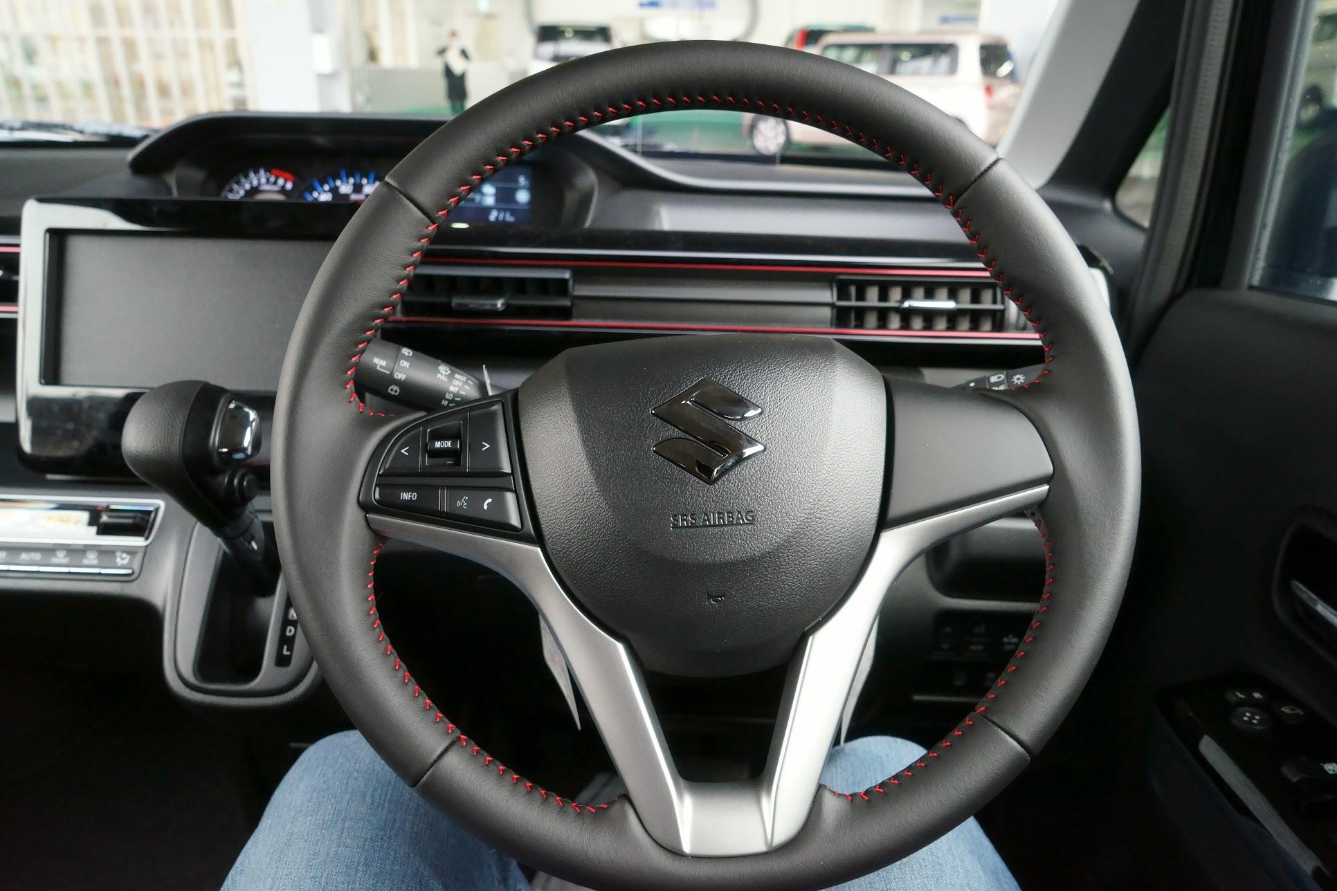 2017新型ワゴンRスティングレーハンドル