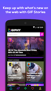 GIPHY - Animated GIFs Search Engine Screenshot