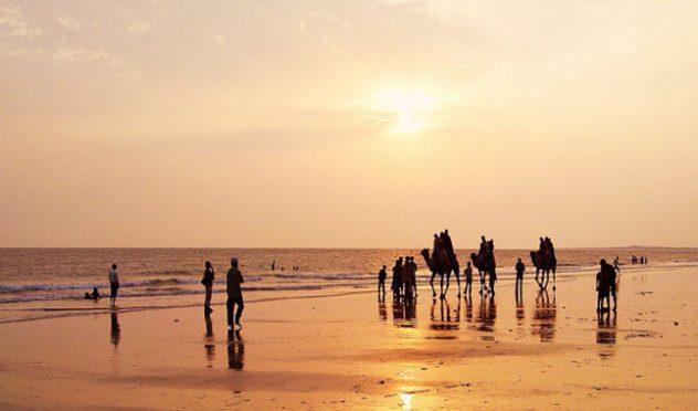 Rann of kutch mandavi beach