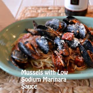 Low Sodium Marinara Sauce.