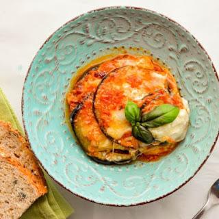 Skinny Eggplant Parmesan Recipe