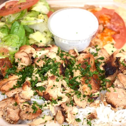 Chicken Shawarma Plate