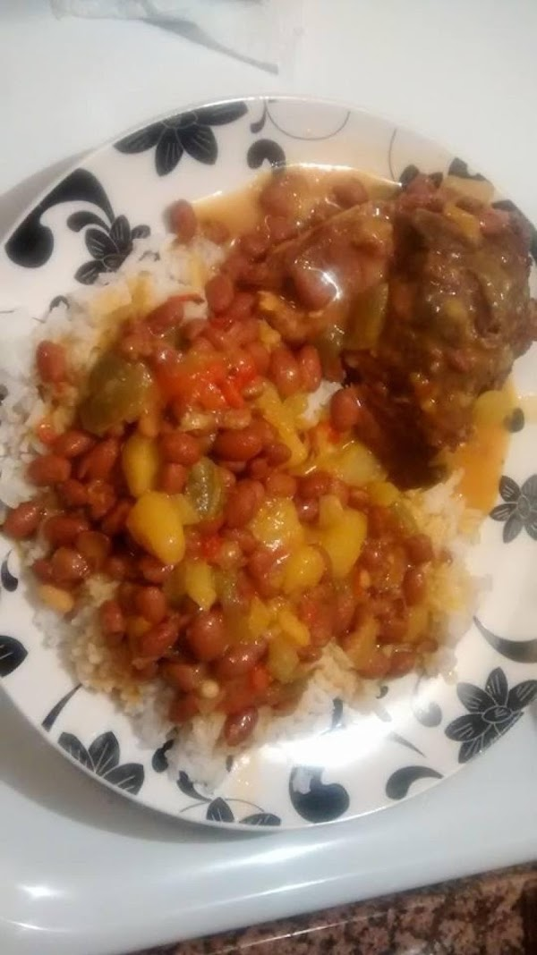 Red Beans And Smoked Neckbones Over Rice Recipe