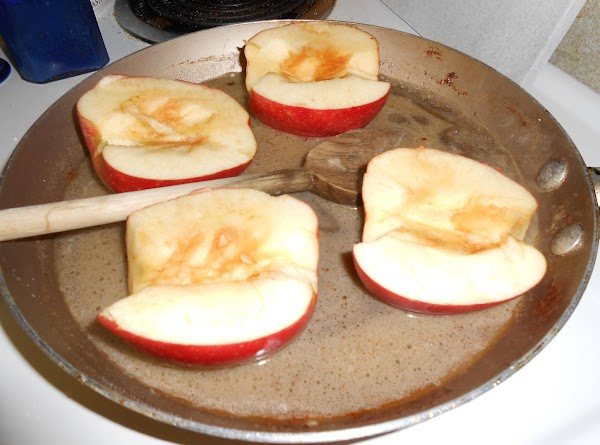 Add remaining ingredients, placing apples cut side up. Cover and cook over medium heat,...
