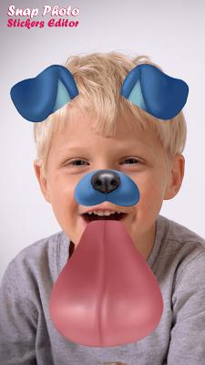 Snap Photo Stickers Editor - screenshot