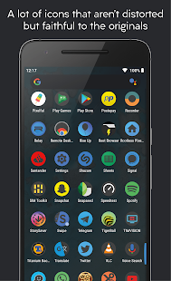 Darkful Icon Pack - Theme for Apex/Nova Launcher Screenshot