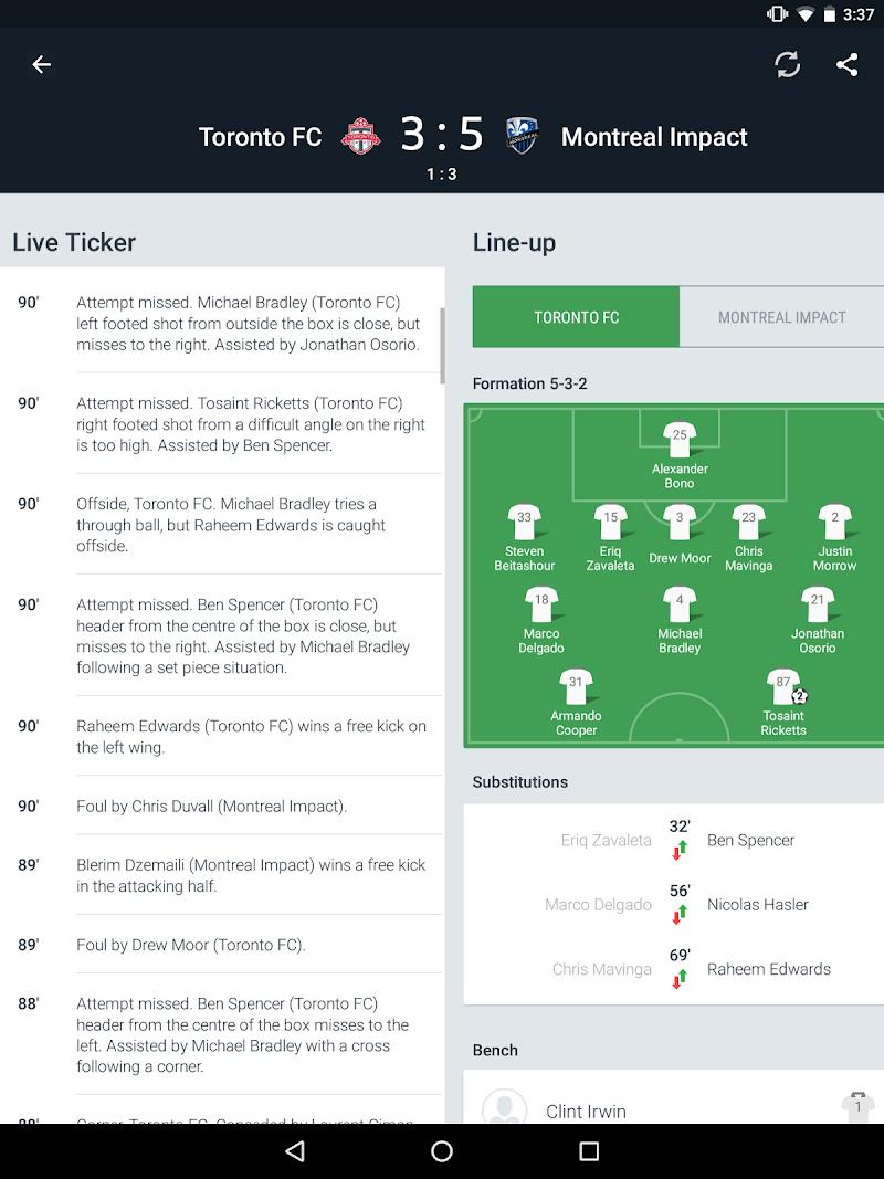 Onefootball Live Soccer Scores Screenshot 7