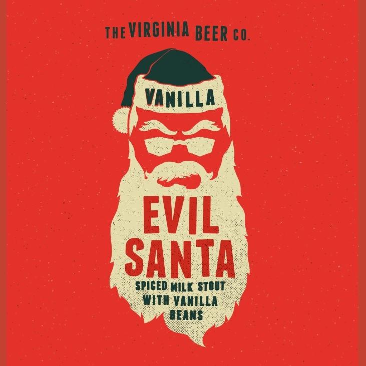 Logo of Virginia Beer Co. Vanilla Evil Santa