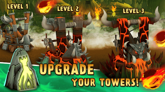 ApkMod1.Com Skull Towers Best Offline Castle Defense Games + (Mod Money) for Android Game Strategy
