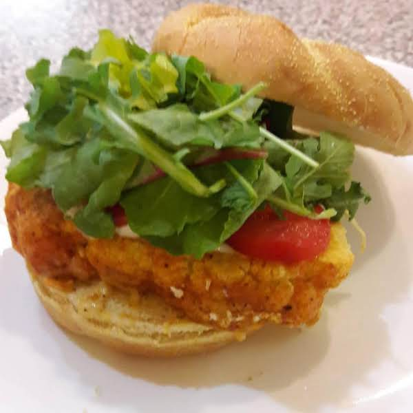 Gaby's Buffalo Cauliflower Steak Sandwich Recipe