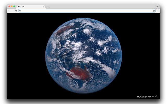 Himawari 8 Satellite New Tab Page