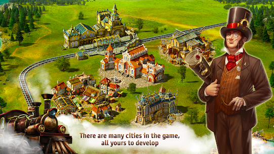 Transport Empire: Steam Tycoon Mod Apk Download For Android and Iphone 7