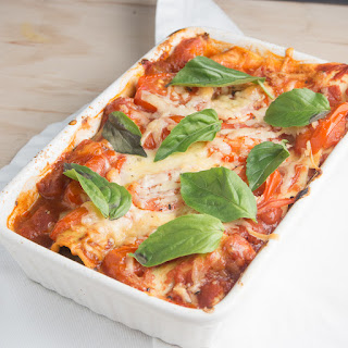 Ugly Duckling Baked Caprese Pasta