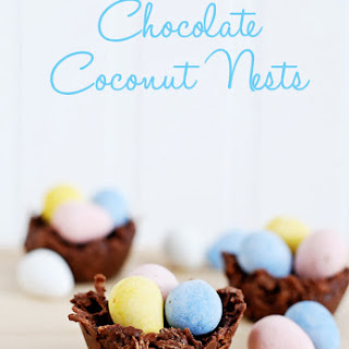 Chocolate Coconut Nests