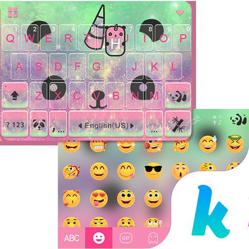 Galaxy Panda Kika Keyboard