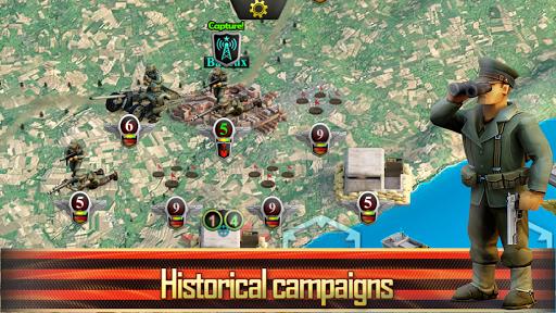 Frontline: Western Front - WW2 Strategy War Game screenshots 20
