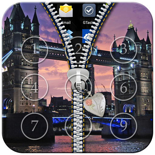 London Zipper Lock