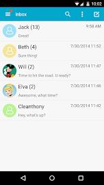 Handcent SMS Screenshot 2