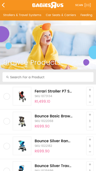 Babies R Us Gift Registry- screenshot