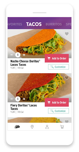 Taco Bell screenshot