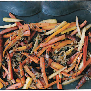 Carrots with Shallots, Sage, and Thyme.