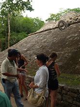 Photo: Spielfeld der Mayas in Coba