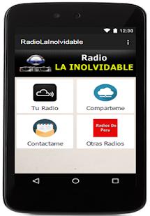 Radio La Inolvidable PERU - náhled